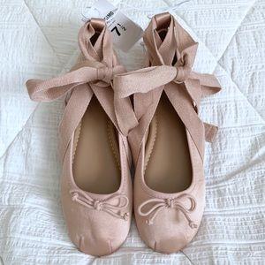 MOSSIMO Satin Ballet Style Flats